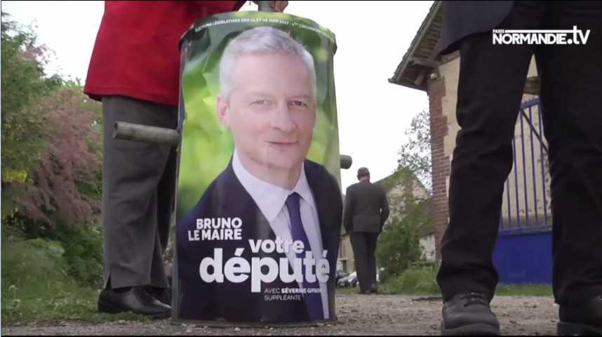 Bruno Le Maire a lancé sa campagne pour les prochaines législatives
