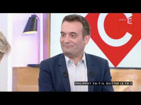 Florian Philippot félicite Anne-Sophie Lapix - ZAPPING TÉLÉ DU 23/05/2017
