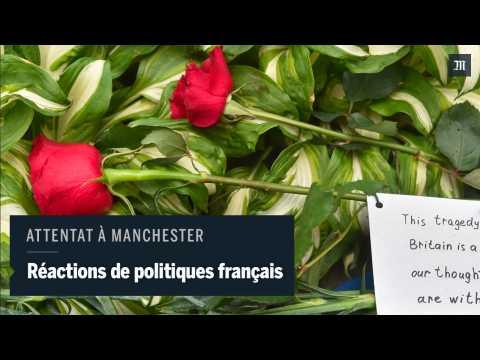 Attentat de Manchester, réactions de politiques français
