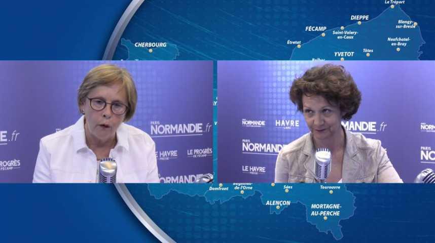 Législatives : Débat entre Françoise Guégot et Annie Vidal