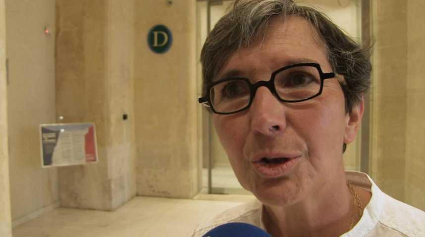 Valérie Fourneyron, très émue après sa défaite