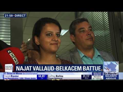 """Battue au 2nd tour des législatives, Najat Vallaud-Belkacem annonce faire """"une pause"""""""