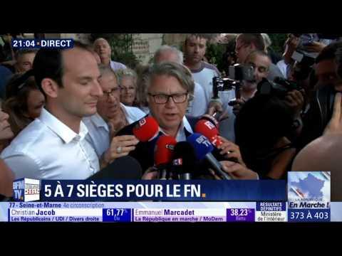 "Réélu dans le Gard, Gilbert Collard s'en prend aux ""médiatisation macronienne"""