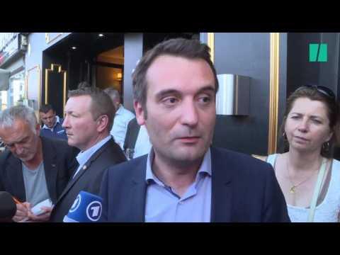 """Battu par un chirurgien-dentiste, Philippot raille la """"vaguelette"""" LREM"""
