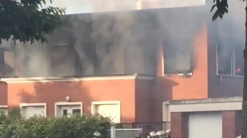 Incendie dans un squat au Havre
