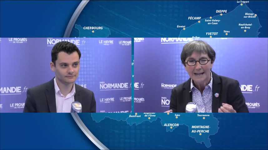 Législatives : Débat entre Valérie Fourneyron et Damien Adam