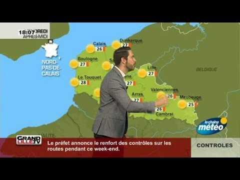 Les Prévisions Météo du 27 Mai 2017 (Lille)