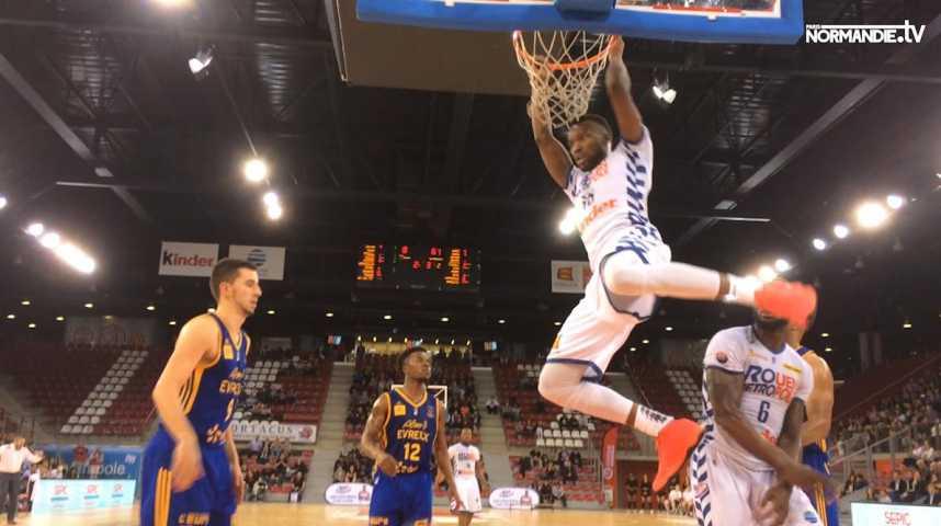 Basket (ProB) : Rouen domine Evreux