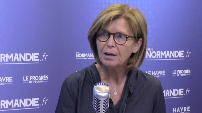 Béatrice Bellevallée, directrice adjointe de la Carsat Normandie