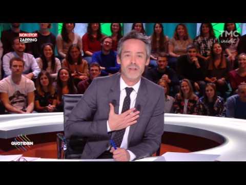 Emmanuel Macron : Yann Barthès s'amuse de sa réaction à l'ONU dans Quotidien (Vidéo)