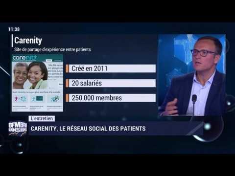 L'entretien: Carenity, le réseau social des patients - 23/09