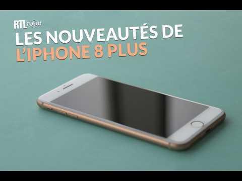Les nouveautés de l'iPhone 8 Plus