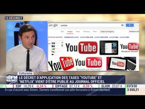 """Culturama: Le décret d'application de la """"taxe Youtube"""" vient d'être publié au Journal officiel - 22/09"""