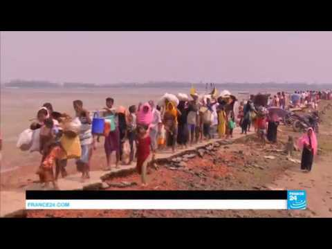 Rohingya Crisis: 270,000 refugees have fled Burma since August 25