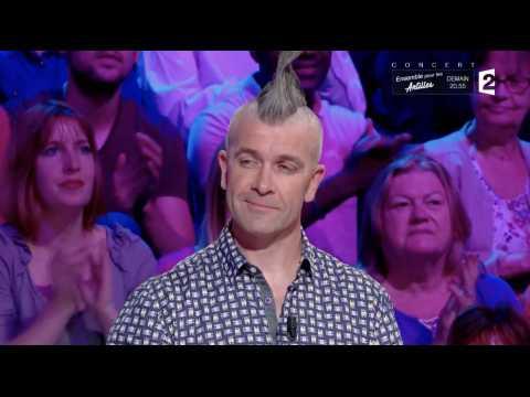 Quand Nagui taquine un candidat punk - ZAPPING TÉLÉ DU 19/09/2017