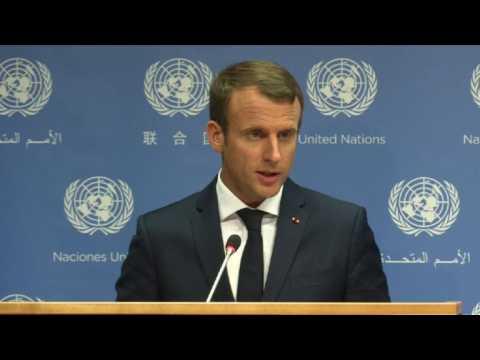 """Syrie: Assad est un """"criminel"""" et devra être jugé (Macron)"""