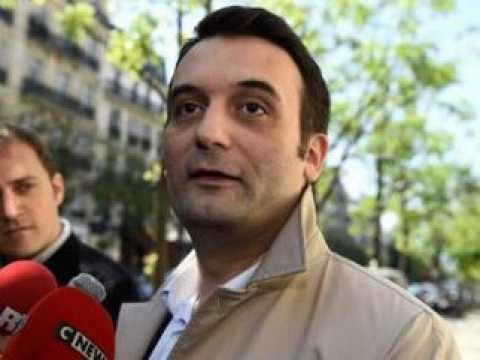 Florian Philippot, député européen, vice-président du FN, président du mouvement les Patriotes.