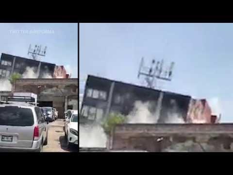 Les images du séisme de magnitude 7,1 au Mexique