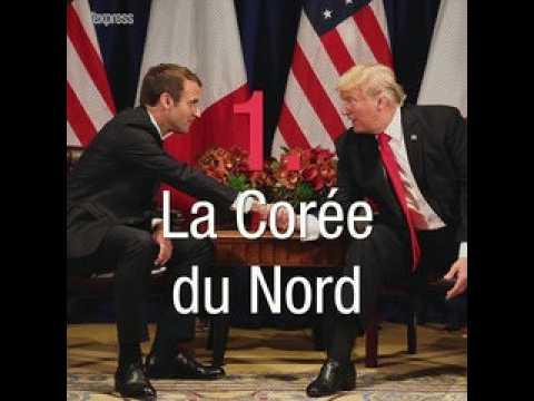 À l'ONU, Macron s'oppose à Trump