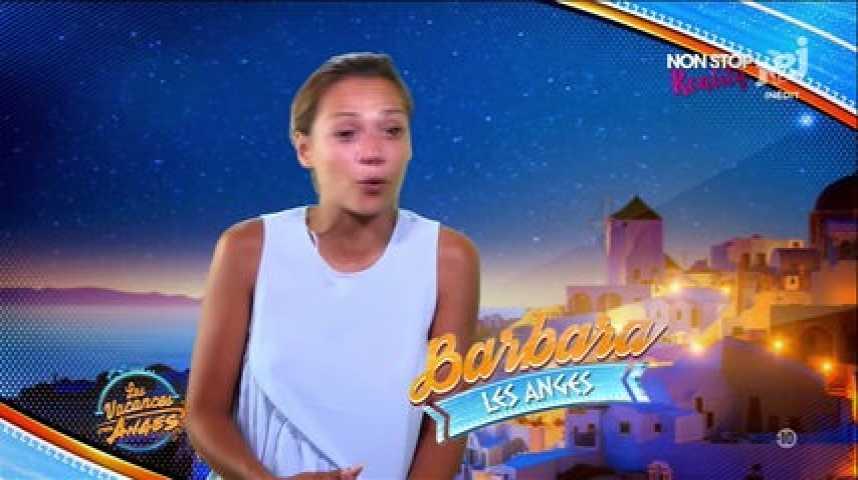 Les Vacances des Anges 2 : Barbara Lune en larmes à cause de Jordan (Vidéo)
