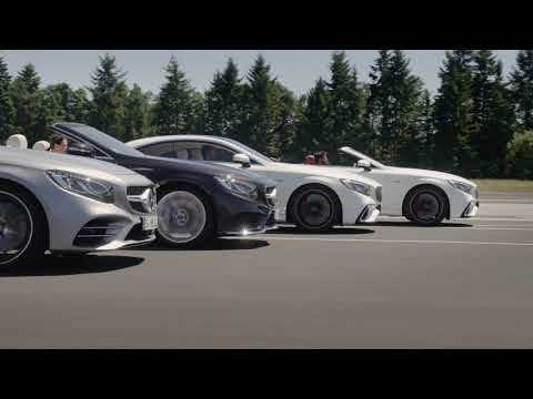 The new Mercedes-Benz S-Class Coupe and Cabriolet 4 models - Driving Video & Design