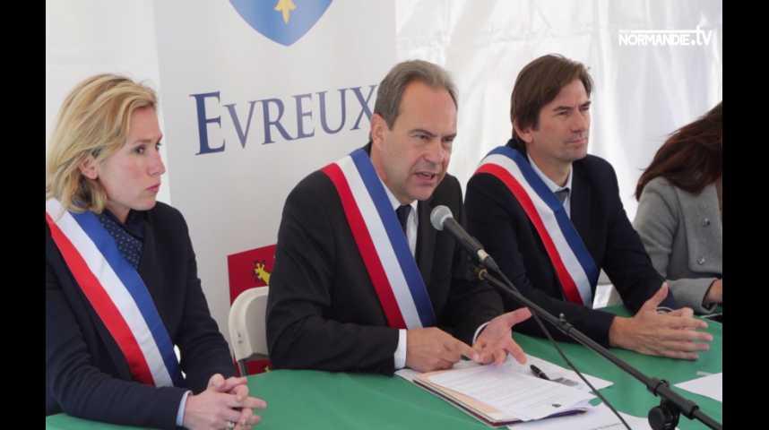Évreux : le maire exige la sécurisation des anciennes Usines de Navarre