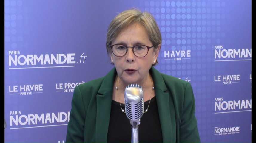 Annie Vidal, députée de la 2e circonscription de la Seine Maritime