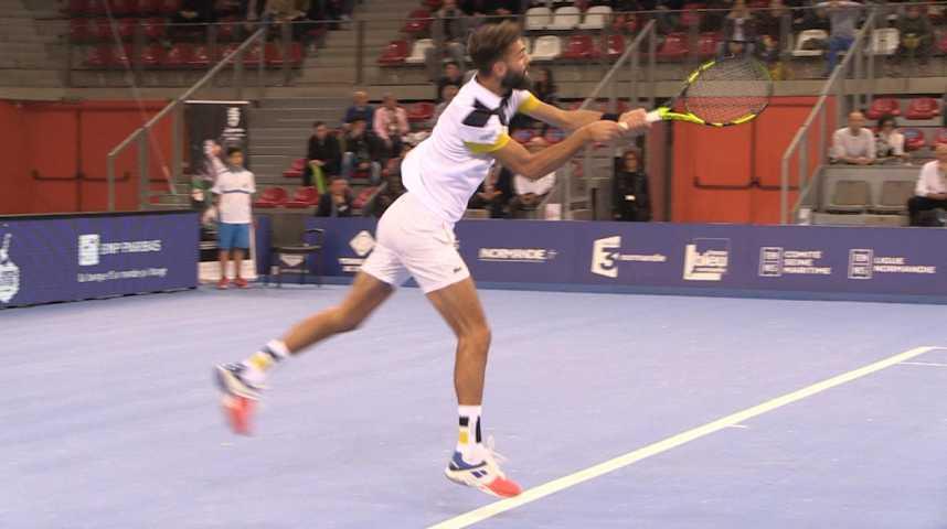 Benoit Paire en finale de l'Open de Rouen