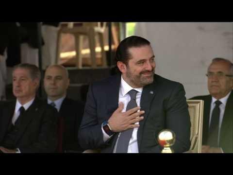 """Au Liban, Hariri annonce que sa démission est """"en suspens"""""""