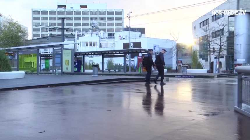 Fin de l'alerte au colis suspect au centre Saint-Sever à Rouen