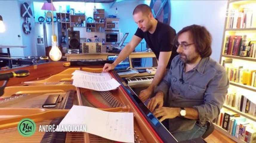 24H AVEC: L'INSPIRATION SANS LIMITE D'ANDRE MANOUKIAN,( EXCLU VIDEO)!
