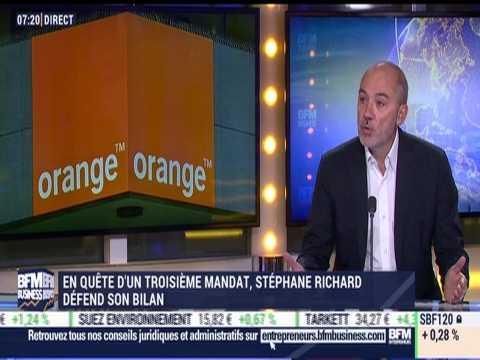 En campagne pour un troisième mandat, Stéphane Richard défend son bilan - 11/12