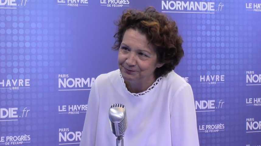 Françoise Guégot, députée de la 2e circonscription de la Seine-Maritime