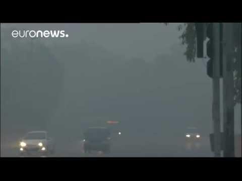 Delhi air pollution hits danger levels