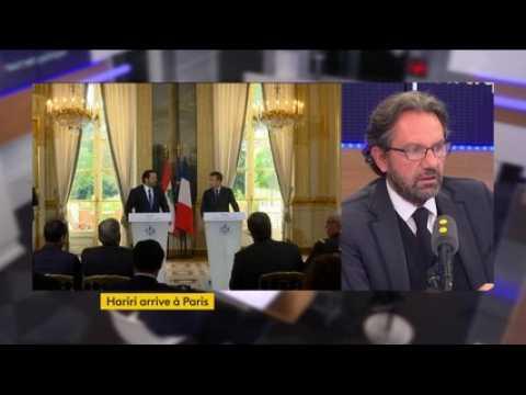 """Tout est politique. Accueil de Saah Hariri : """"Il faut savoir tendre la main à un peuple"""", dit Frédéric Lefebvre"""