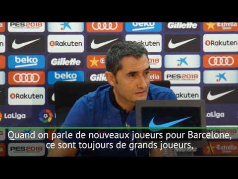 """Transferts - Valverde : """"Griezmann est un grand joueur"""""""