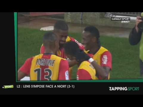 Zap Sport - 21 novembre - Lens s'offre Niort (3-1)