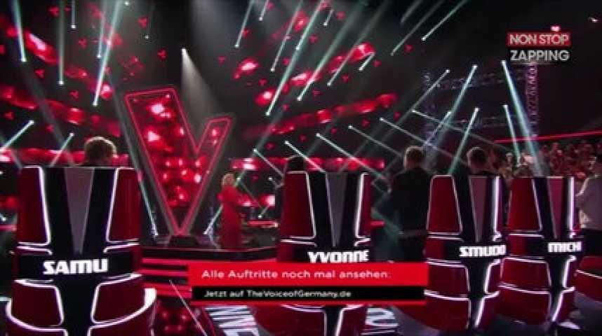 Rita Ora participe à The Voice Germany mais le jury ne la reconnaît pas