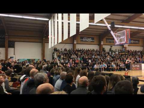 Derby entre l'Aurore et l'Union Rennes basket.