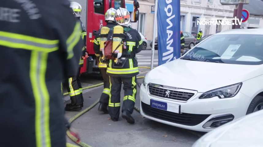 Louviers : fuite de gaz avenue Dunant, la route coupée