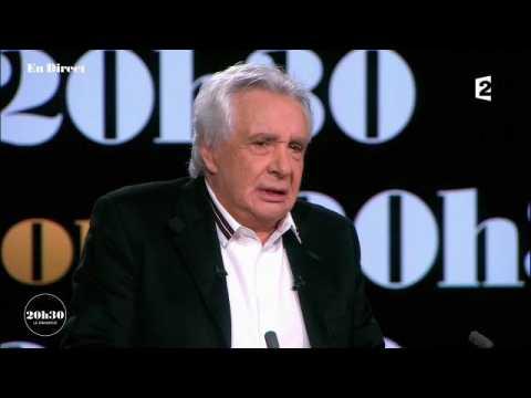 20h30 le dimanche : Michel Sardou s'exprime sur Johnny Hallyday, dim 19 nov