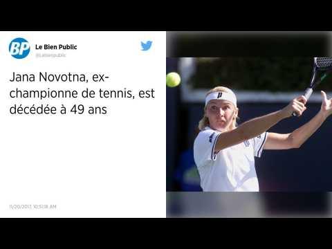 L'ancienne joueuse de tennis Tchèque Jana Novotna, vainqueur de Winbledon en 1998, est décédée des suites d'un cancer à 49 ans.