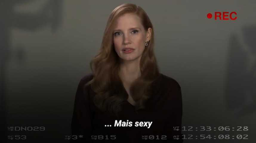 Jessica Chastain vous montre comment on auditionne les actrices à Hollywood