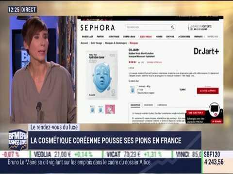Le Rendez-vous du Luxe: La cosmétique coréenne pousse ses pions en France - 20/11