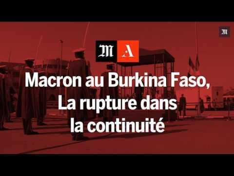 Discours de Macron au Burkina Faso : la rupture dans la continuité