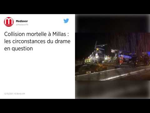 Collision entre un train et un car à Millas : le bilan s'alourdit à six morts.