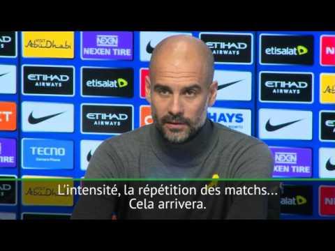"""18e j. - Guardiola : """"Nous allons perdre des matchs"""""""
