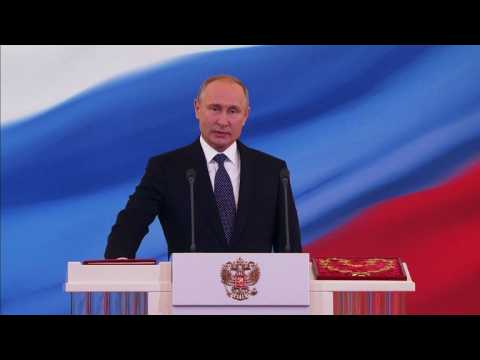 People react to Putin's fourth term in office