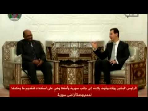 Sudan's Bashir visits Damascus