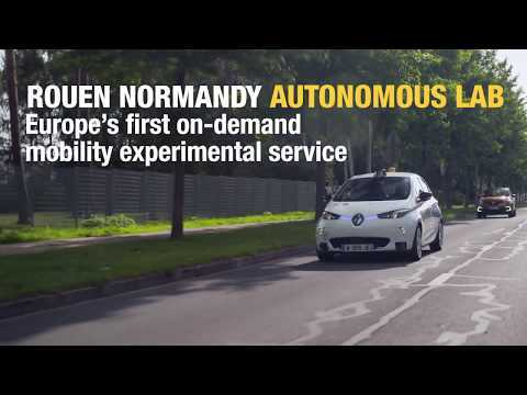 2018 Rouen Normandy Autonomous Lab - towards the shared mobility of tomorrow